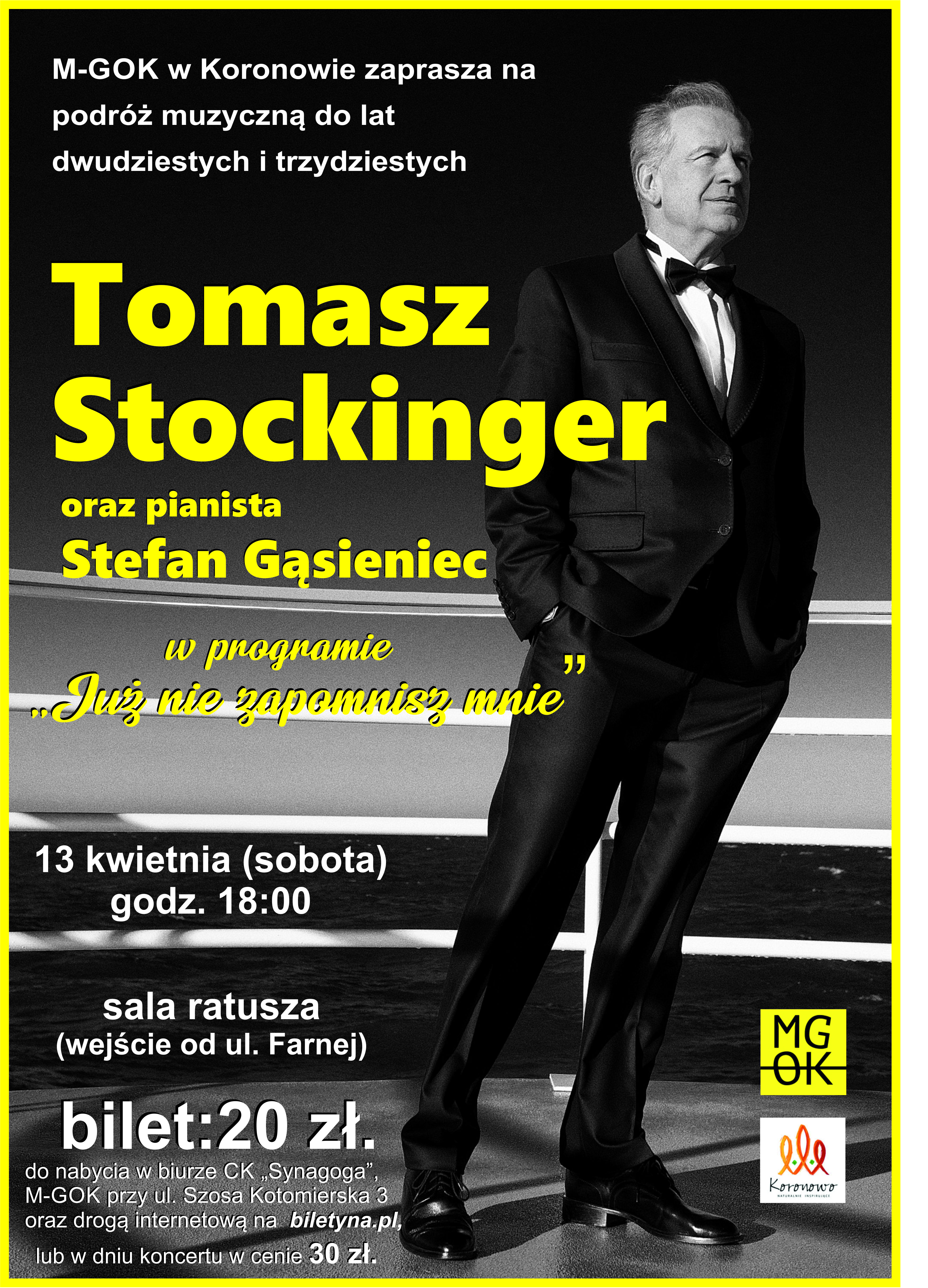 Recital Tomasza Stockingera